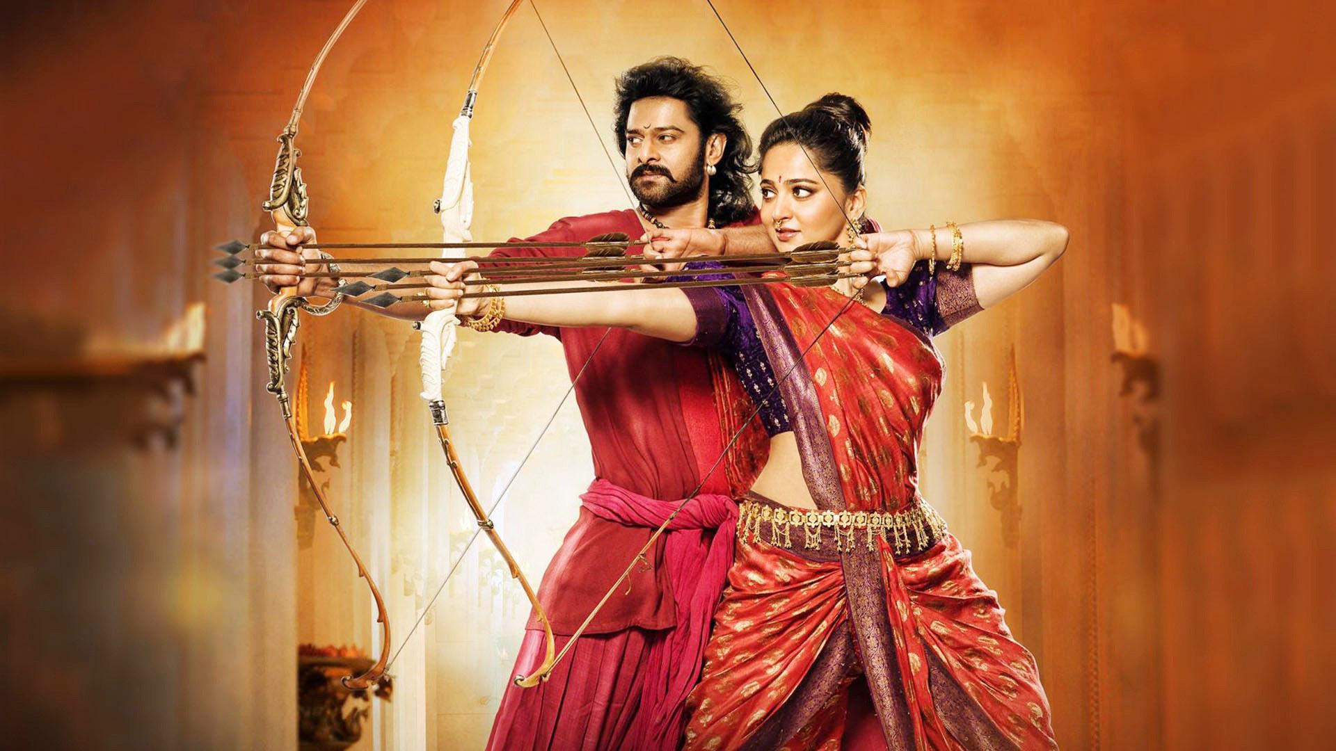 bahubali-2-prabhas-and-anushka-trying-to-goal-hd - creators cult