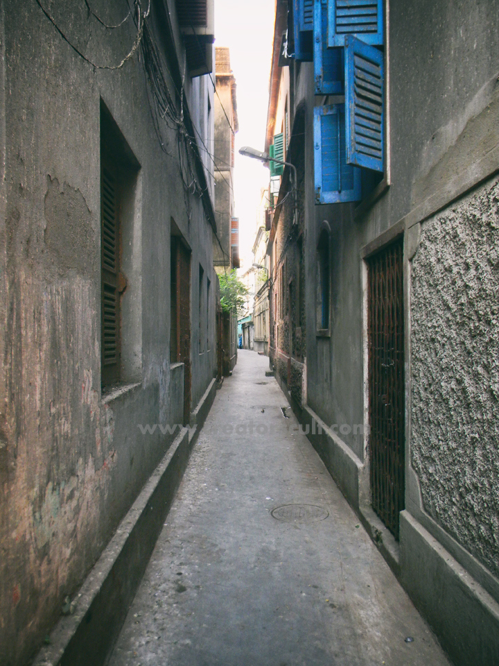 The Alley Leading to Noku Babu's House