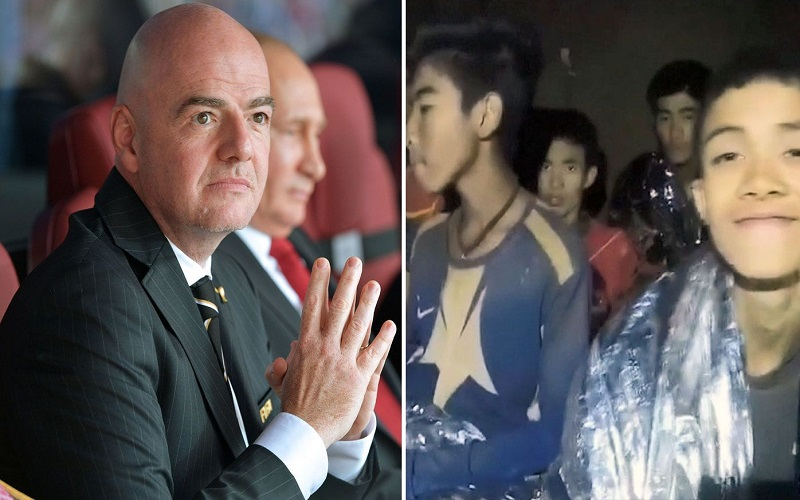 Thai Boys will not attend FIFA World Cup 2018 Final says FIFA