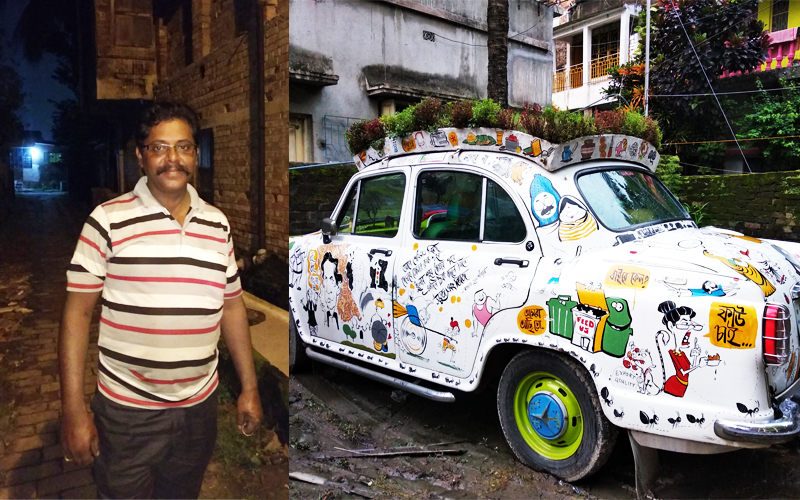 Bapi Cartoon Car