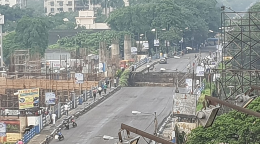 Kolkata Majerhat bridge collapsed 1