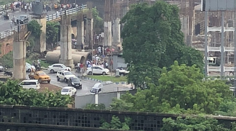 Kolkata Majerhat bridge collapsed 3